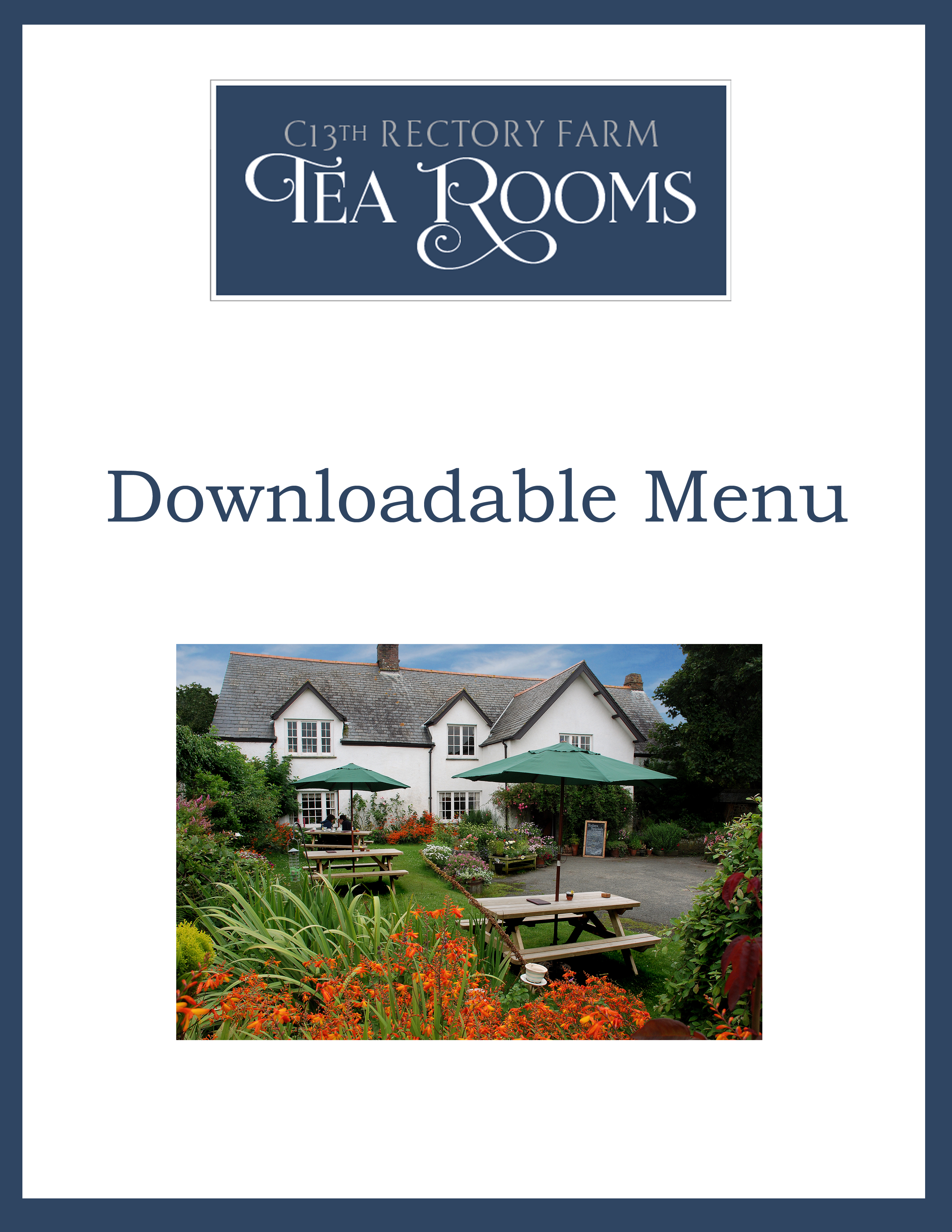 Click Here to Download a PDF of Our Menu