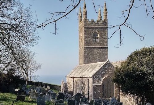 Morwenstow Church - Click Here for Our Local Area Page