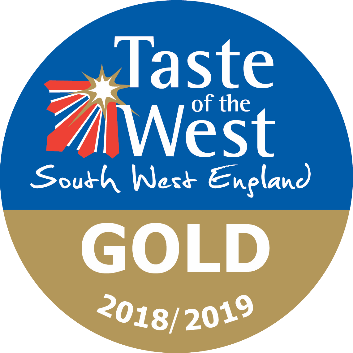 Taste of the West Gold Award 2018-2019 Logo